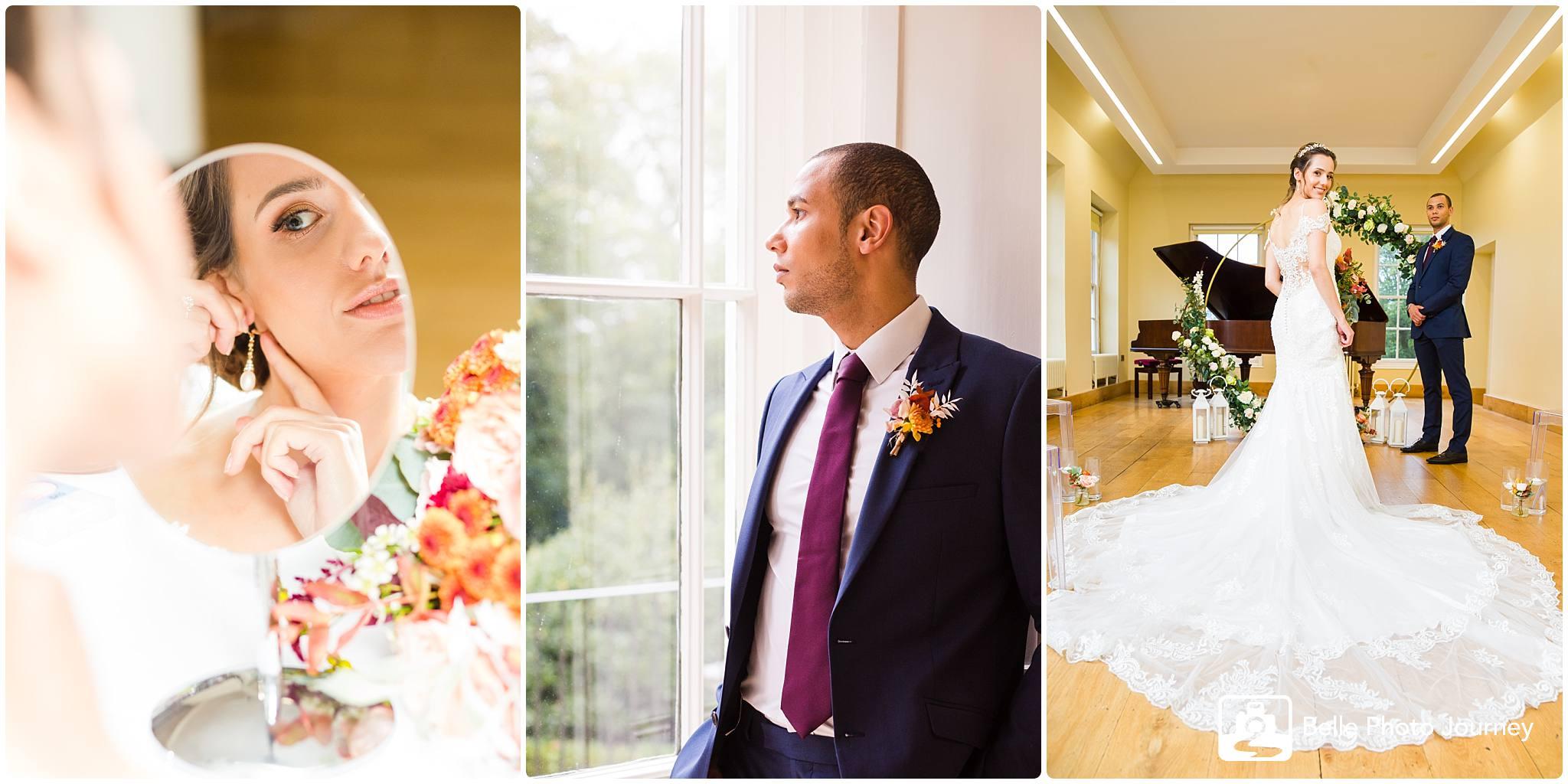 Wedding preparation photo - Lauderdale House Highgate