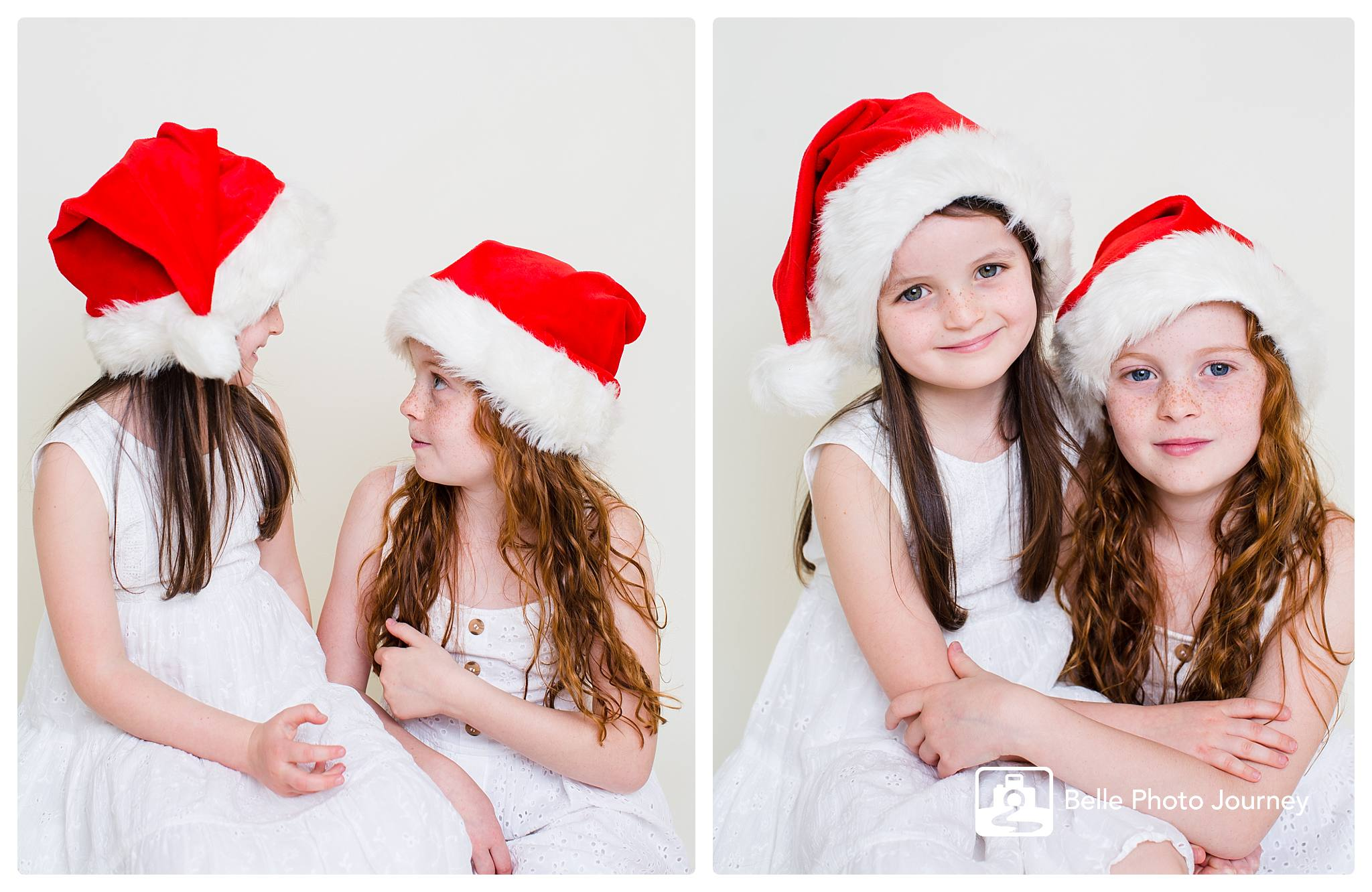 Wear christmas colours for photos