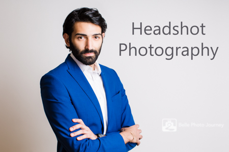 Professional head shot male in suit