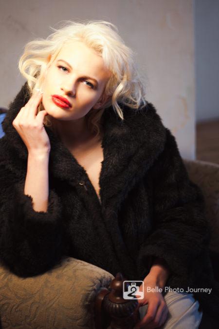 Chloe Jasmine marilyn monroe lookalike portrait